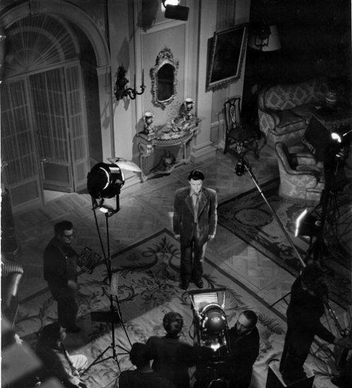 """Photos de tournage de """"La beauté du diable"""""""
