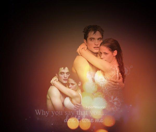 Edward et Bella - Honeymoon