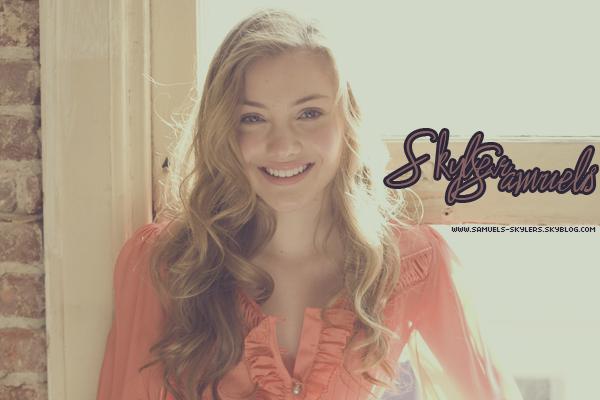 Suivez toute l'actualitée de la talentueuse Skyler Samuels