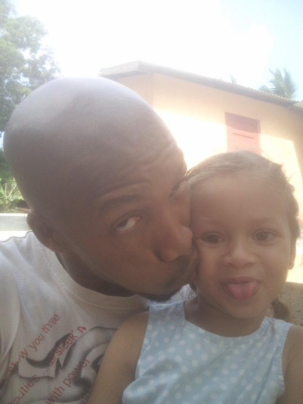 Bon moment passé avec ma nièce