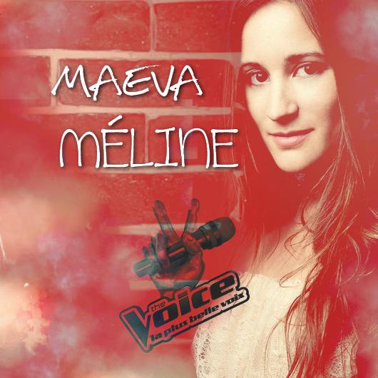 """Maeva dans """"The Voice"""" ! Mobilisons-nous ;-)"""