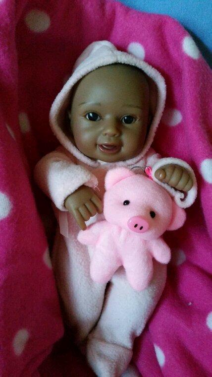 Petite maya 28 cm   un amour de bébé  (sexué )