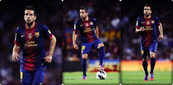 Jordi Alba face à la Real Sociedad
