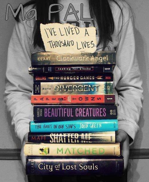 Ma pile à lire