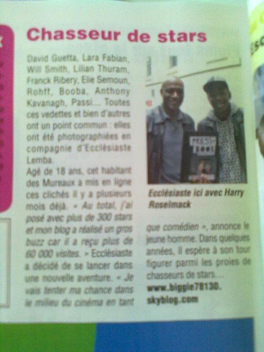Moi sur le Magazine JTM Info.