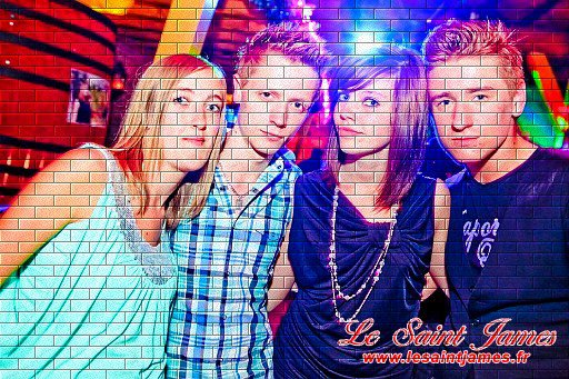 moi, Kévin, Alicia et Kris