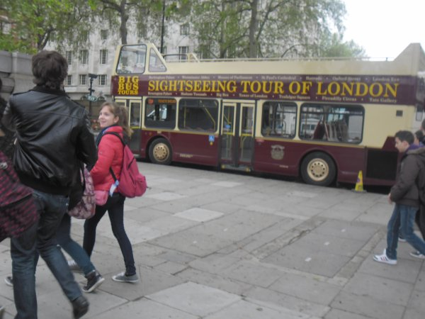 les differents bus de londres