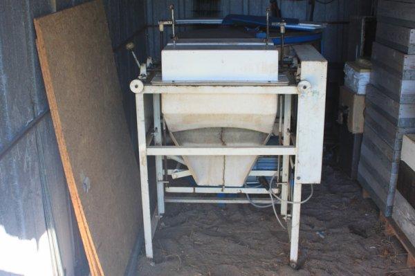 Machines pour la nouvelle miellerie
