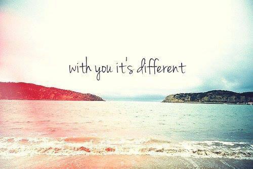Différente ...