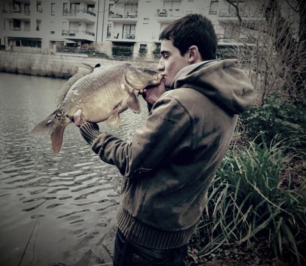 L'amour de la pêche