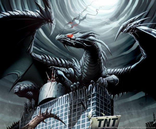 le dragon des tenebres