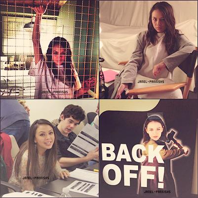 . MAI 2012 : Photos du tournage de la saison 3 de Pretty Little Liars.