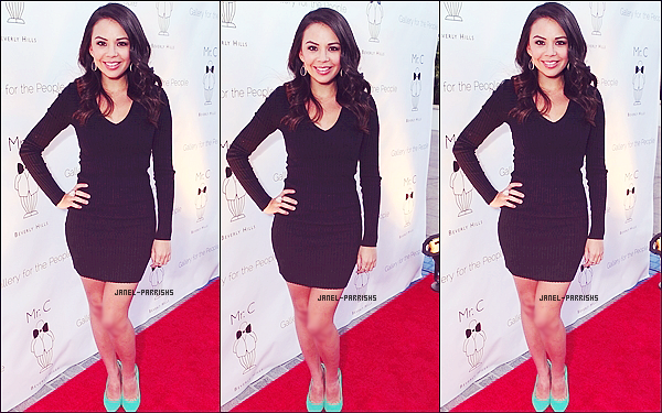 ". 28 JUIN 2012 : Janel était à l'ouverture estivale du ""Gallery for the People""."