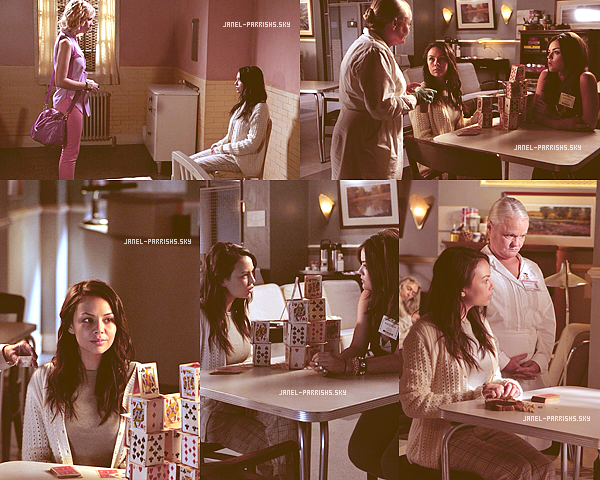 ". JUILLET 2012 : Stills du 3x07 de Pretty Little Liars intitulé ""Crazy""."