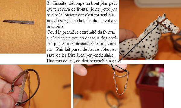 Tuto 3 : Comment faire un filet Schleich ?