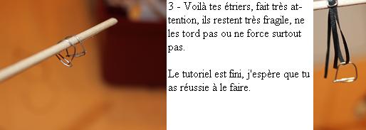 Tuto 4 : Comment faire des étriers Schleich ?