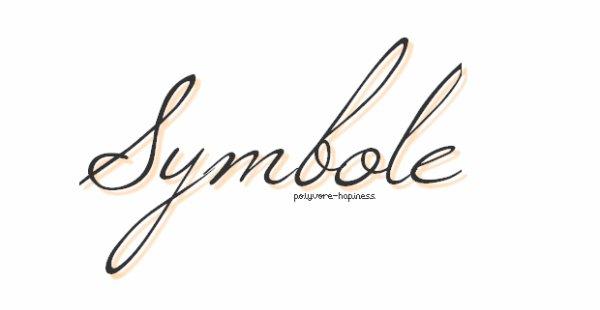 Symboles ...