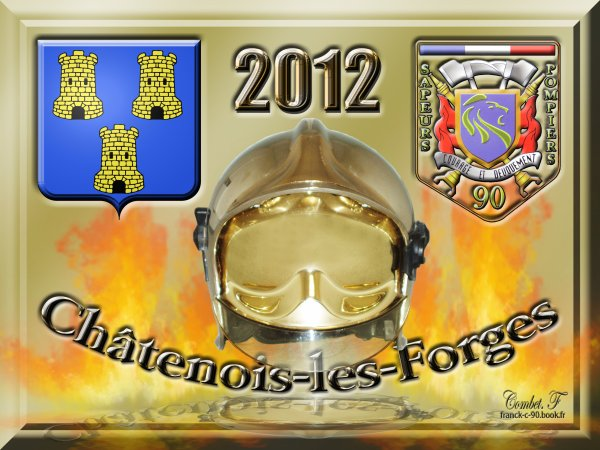 189 eme PHOTO CALENDRIER 2012 Pompiers de Chatenois les Forges