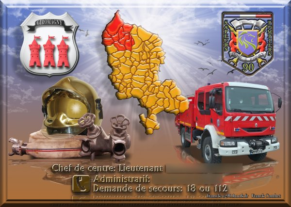 190 eme PHOTO   page calendrier pompiers Giromagny 2012