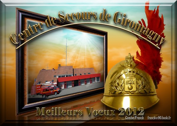 191 eme PHOTO   couverture calendrier pompiers Giromagny 2012