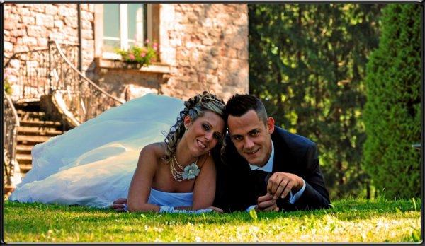 La complicité des mariés