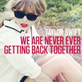 Red / Taylor Swift - We are never ever getting back together (2012)