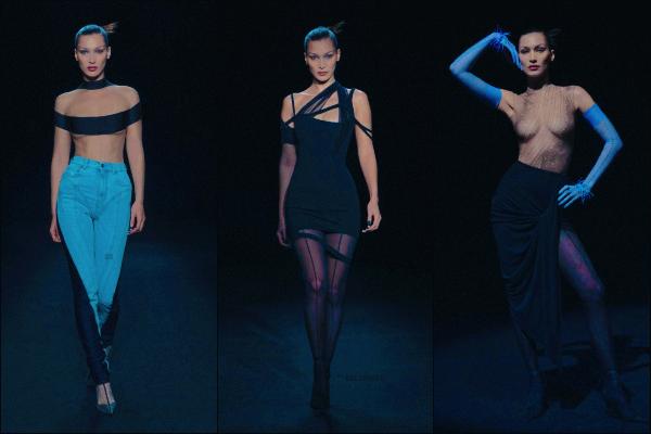 - 03/31/21 - New York, US'♡Notre sublime mannequin Bella Hadid défilait pour la marque française 'Mugler'. ➤ Isabelle s'est donnée à fond et je suis complètement fan du défilé. La queen du catwalk est de retour pour dead ça ! -