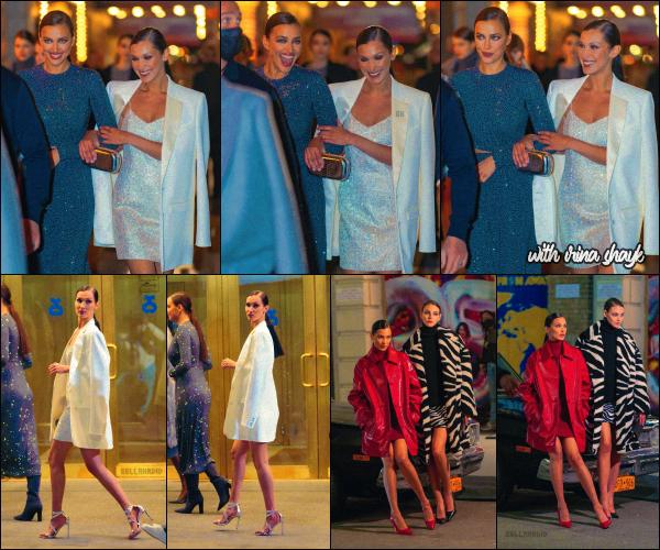 - 08/04/21 - New York, US'♡La jolie mannequin Bella Hadid a défilé pour le fashion show de : 'Michael Kors' ! ➤ Notre miss a ensuite été aperçue quittant le défilé avec Irina Shayk et Michael Kors en personne. Gros top pour Bels. -