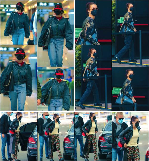 - 12/04/21 - Milan, IT'♡La magnifiquemannequin Isabella Hadid a été photographiée à l'aéroport 'Malpensa' ! ➤ La belle a été vue deux jours plus tard dans les rues de la ville italienne puis de retour à l'aéroport pour quitter Milan. -