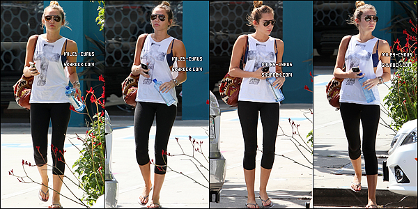 Leaving her pilates class - April 5, 2012
