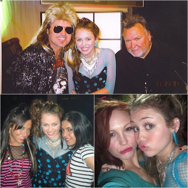 Miley's Birthday Party - September 23, 2007