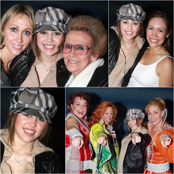 Mamma Mia on Broadway - December 23, 2007