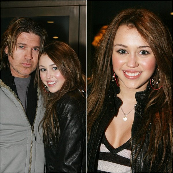Miley Cyrus on Christmas after Dining - December 25, 2007