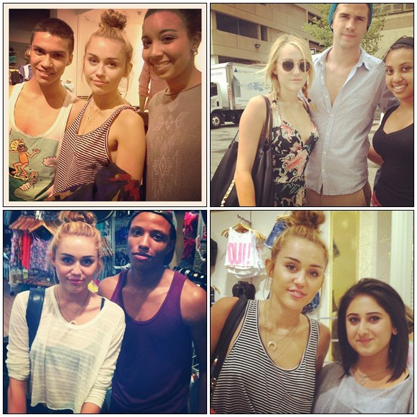 Recent personal pictures + recent pictures with fans - 2012