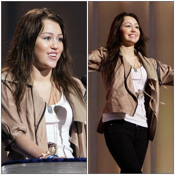 Rehearses for Acadamy Awards - February 23, 2008