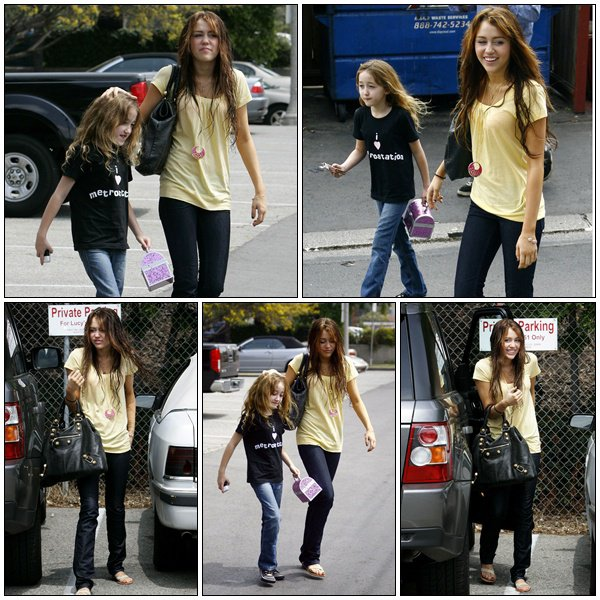Out for lunch with Noah in Toluca Lake - April 5, 2008
