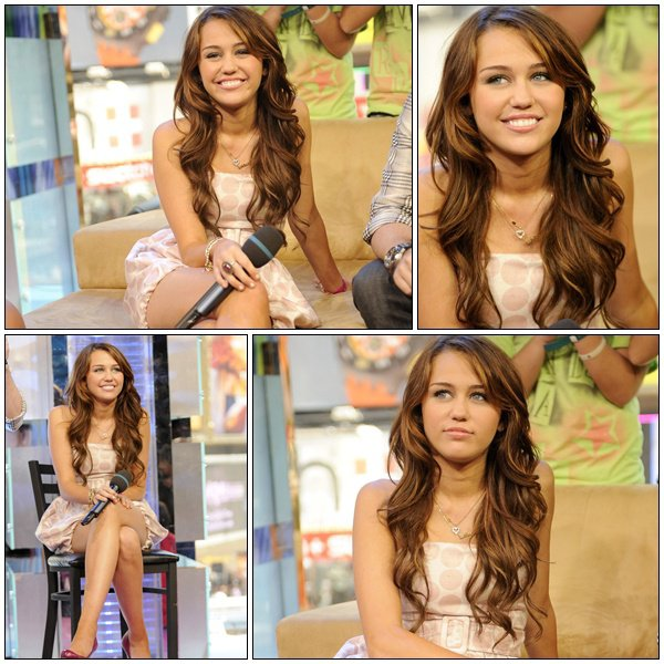 MTV's TRL At The MTV Studios - July 18, 2008