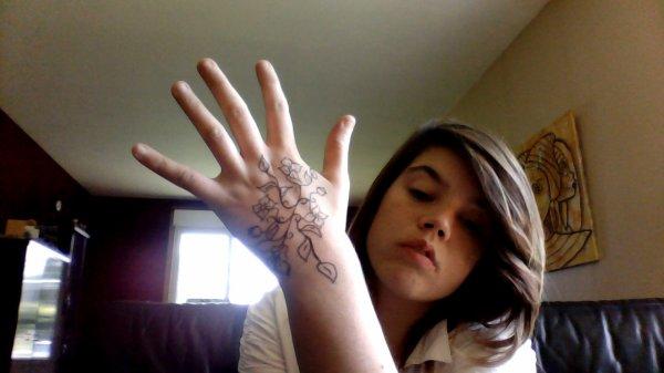 en mode tatouage lol