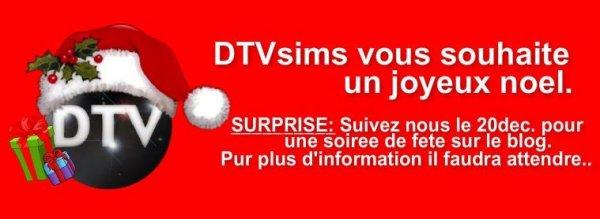 DTVsims - Vous Souhaite un joyeux noël.