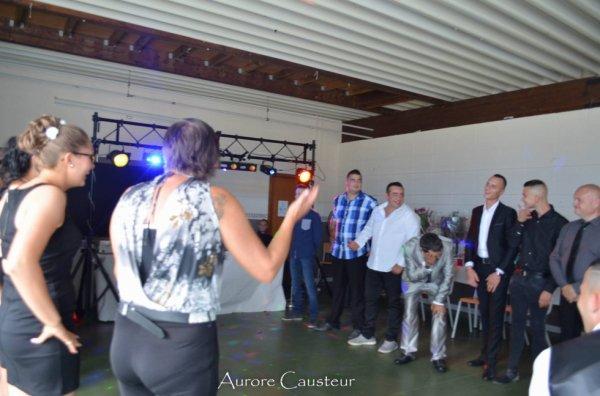 Angélique et Jonathan, le 26 aout 2017 a Fontaine lévéque