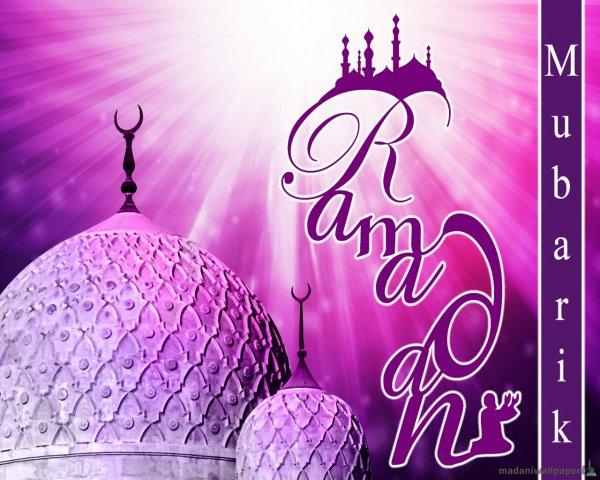 bon ramadan 2013 a tous !!!!