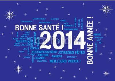 BONNE ANNEE 2014 tout le monde plein de bonheur, d'amour , réussite et la santé gros bisous mouaahhh