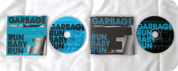 """Supports single """"Run baby run"""" (2005)"""
