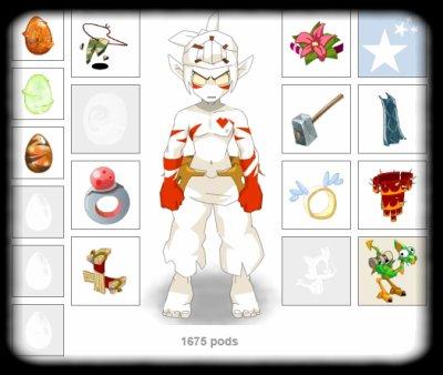 Re ! :D Stuff Sacri, Stuff Eni,Osa,Panda et Enu lvl 8x