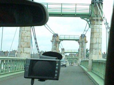 Le pont d'Ingrandes sur Loire