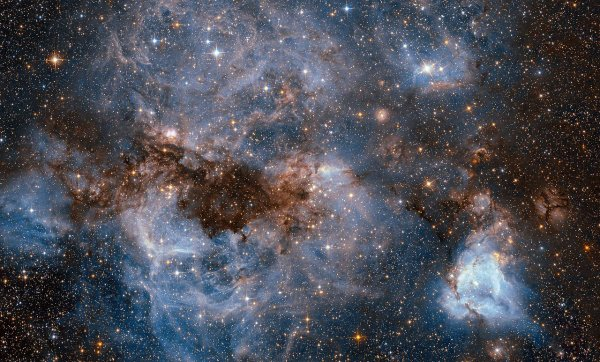 Le Grand Nuage de Magellan vu par le télescope spatial Hubble