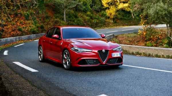Alfa Romeo Giula Quadrifoglio