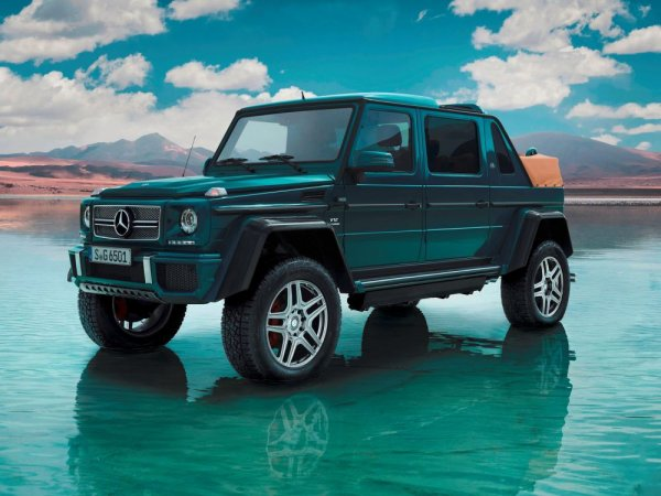 Mercedes Mayback G 650 Landaulet
