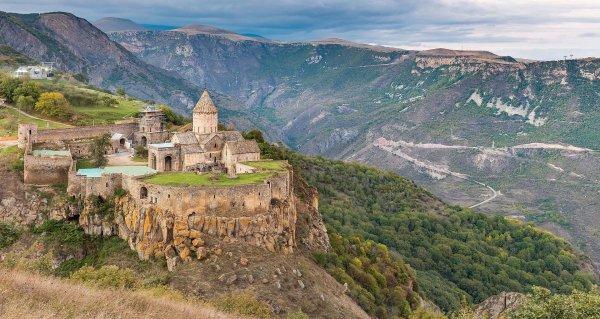 Le monastère de Tatev (Arménie)