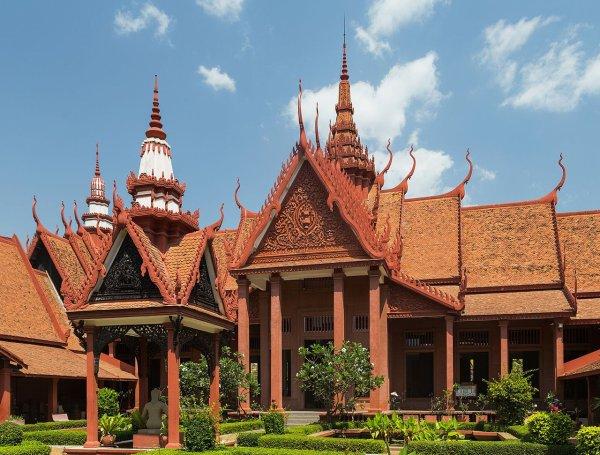 Le musée national du Cambodge, à Phnom Penh